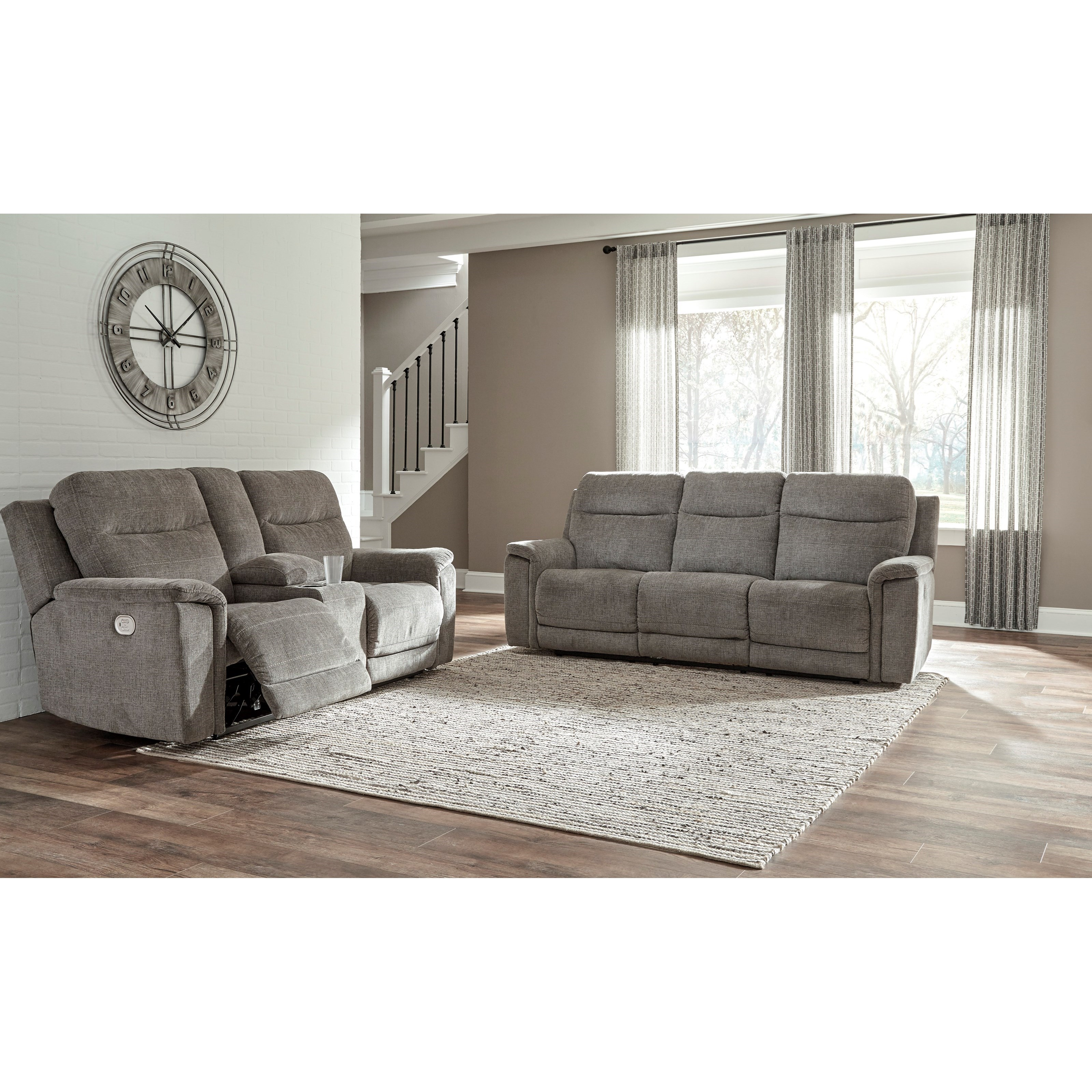 Mouttrie Power Reclining Living Room Group by Signature Design by Ashley at Factory Direct Furniture