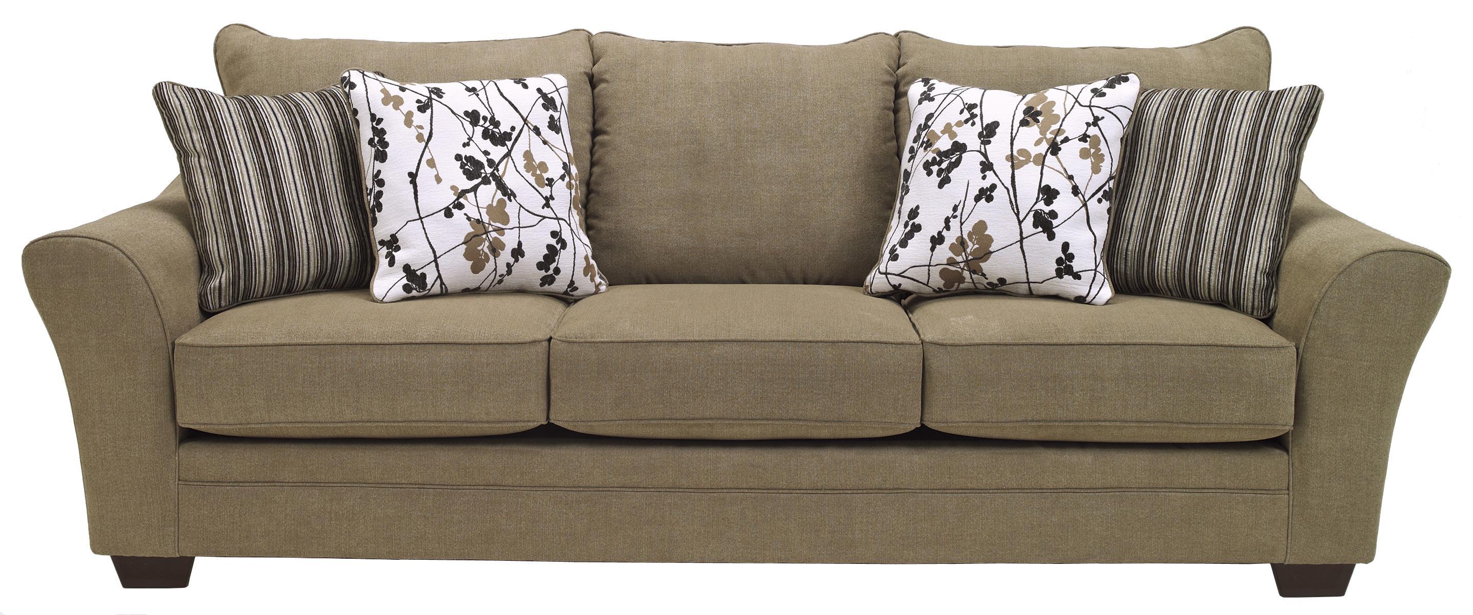 Signature Design by Ashley Mykla Shitake Contemporary Sofa