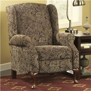Signature Design by Ashley Nadior - Paisley High Leg Recliner