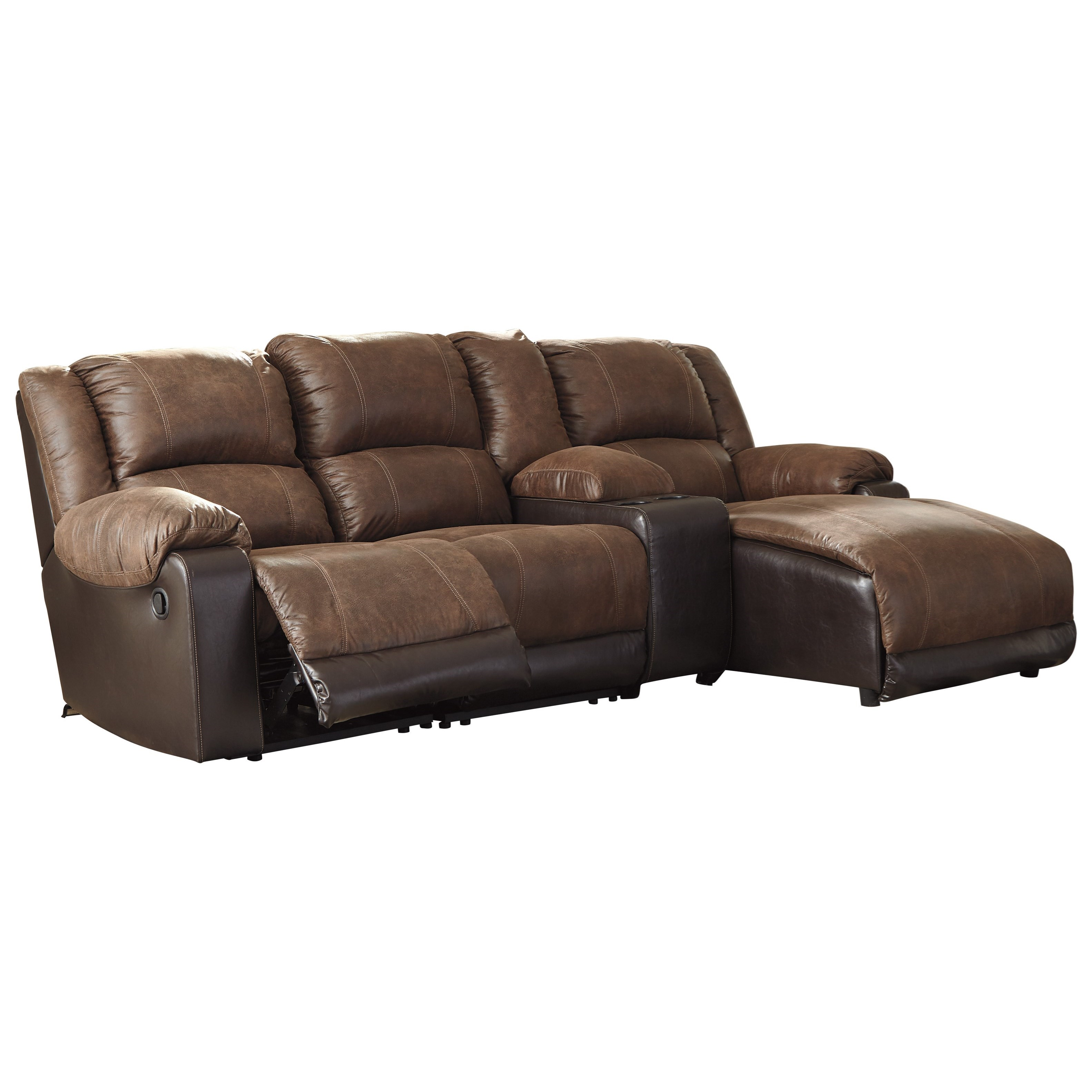 Signature Design By Ashley Nantahala Reclining Chaise Sofa