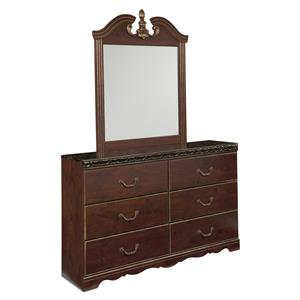 Signature Design by Ashley Naralyn Dresser and Mirror