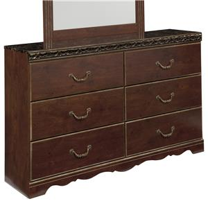 Signature Design by Ashley Naralyn 6 Drawer Dresser