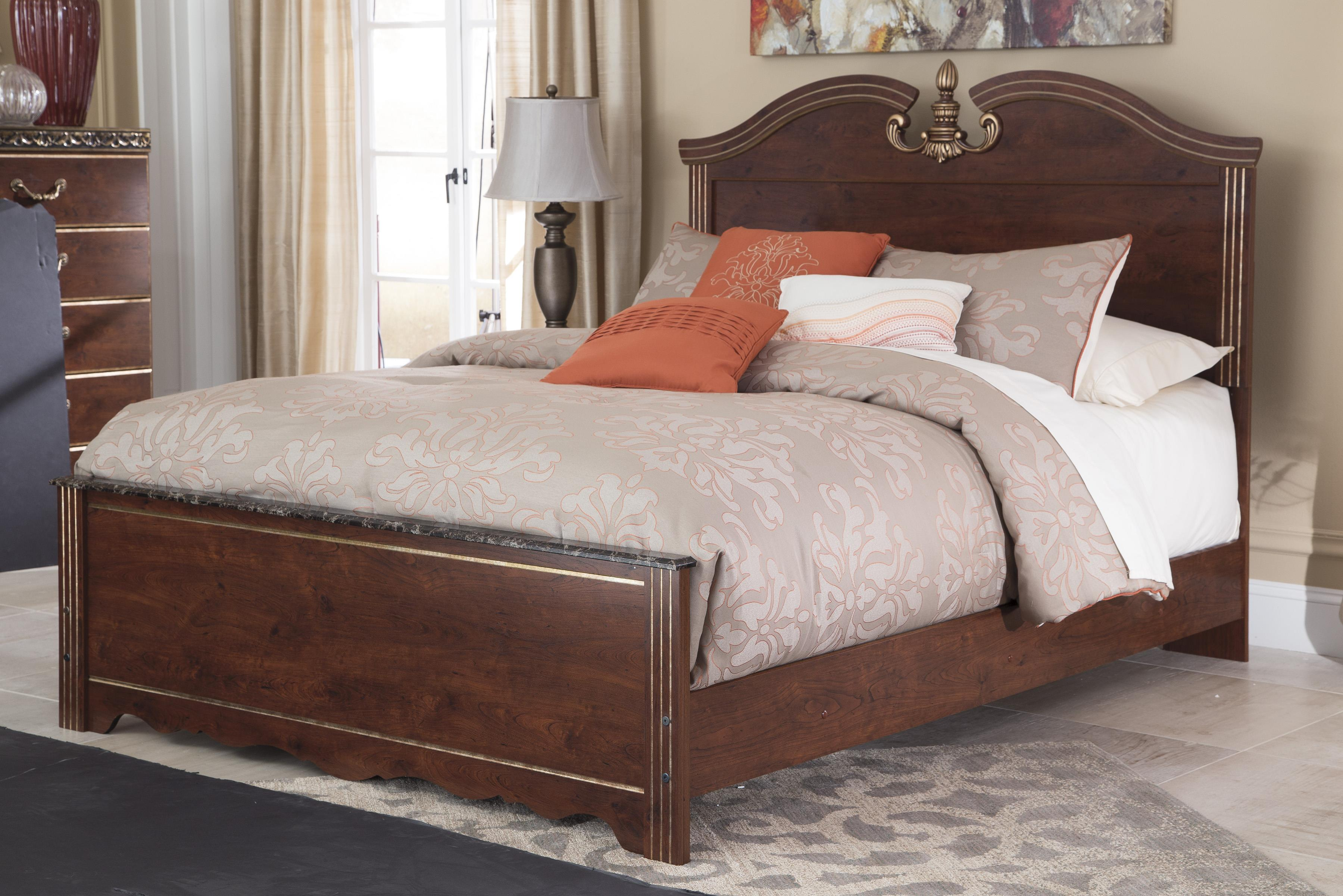 Signature Design by Ashley Naralyn Queen Panel Bed - Item Number: B164-57+96+54