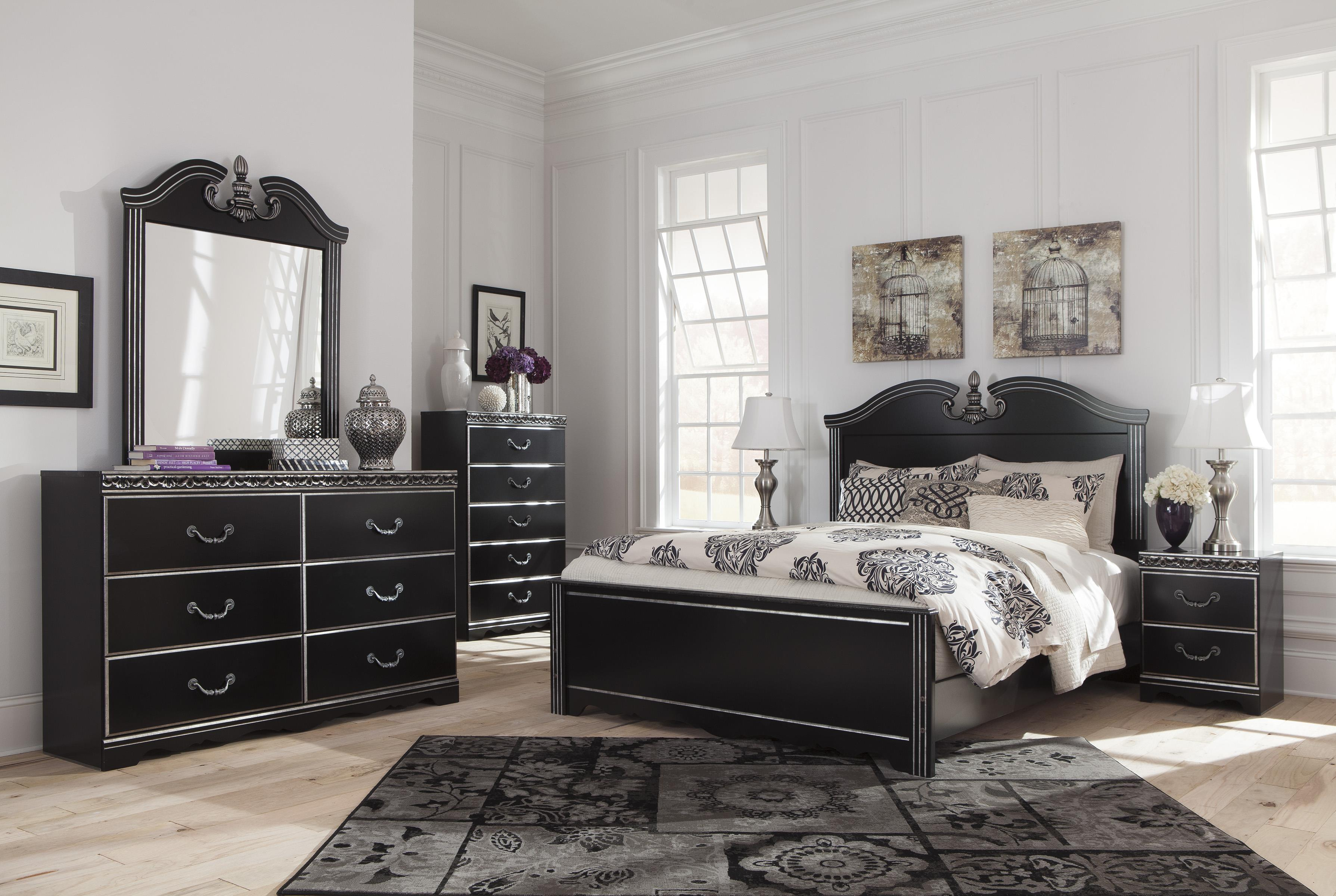 Signature Design by Ashley Navoni Queen Bedroom Group - Item Number: B301 Q Bedroom Group 1