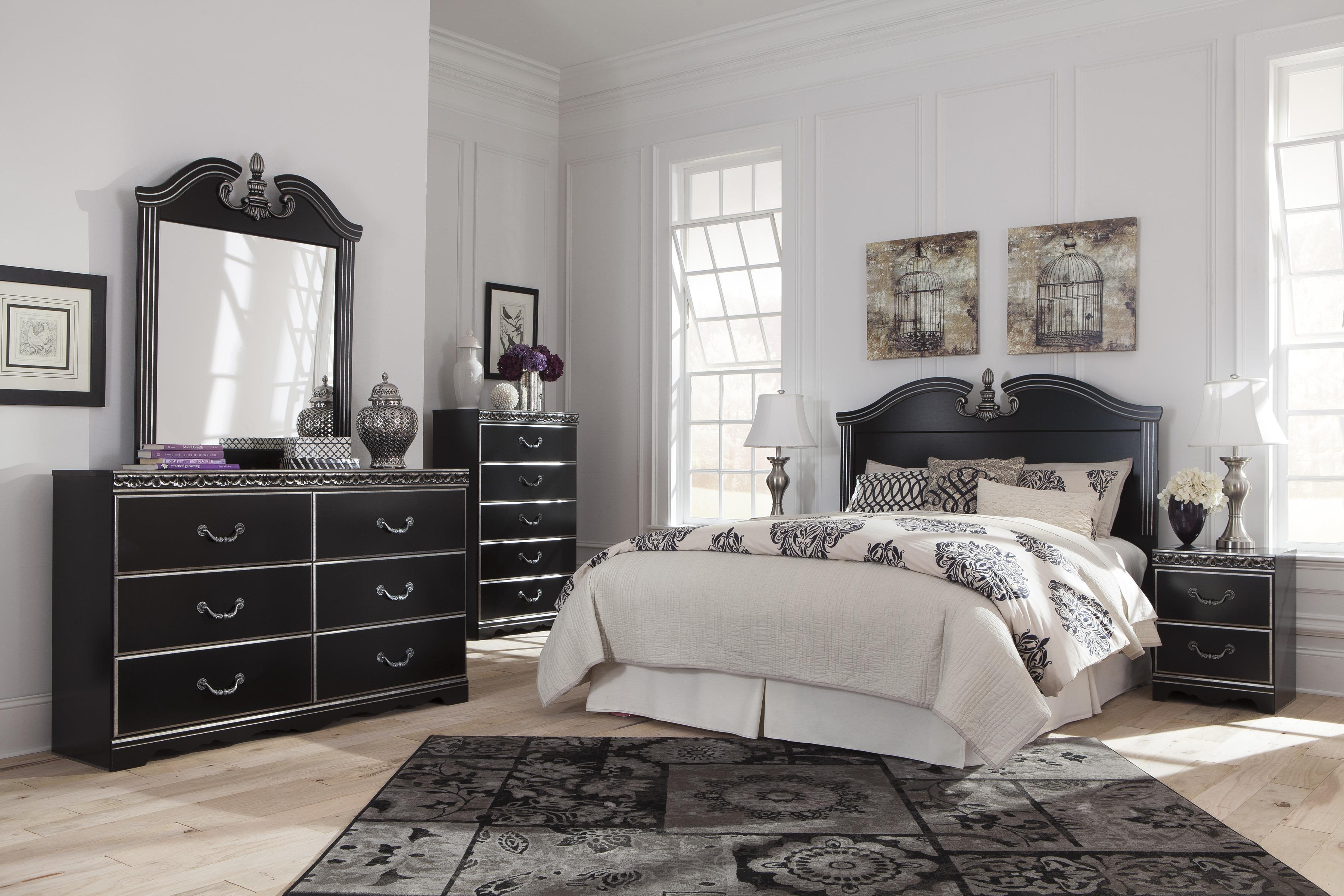 Signature Design by Ashley Navoni Queen/Full Bedroom Group - Item Number: B301 Q Bedroom Group 2