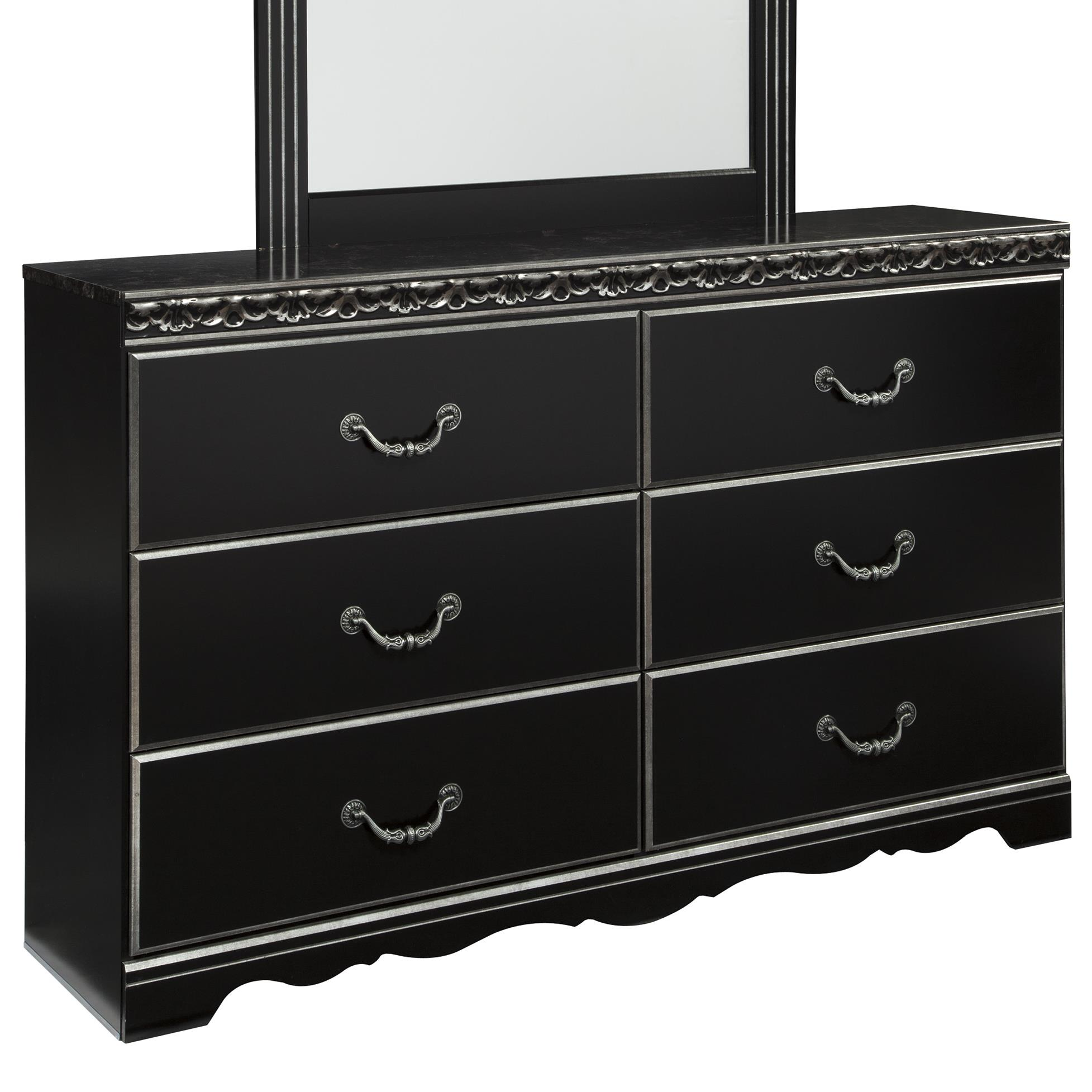 Signature Design by Ashley Navoni 6 Drawer Dresser - Item Number: B301-31