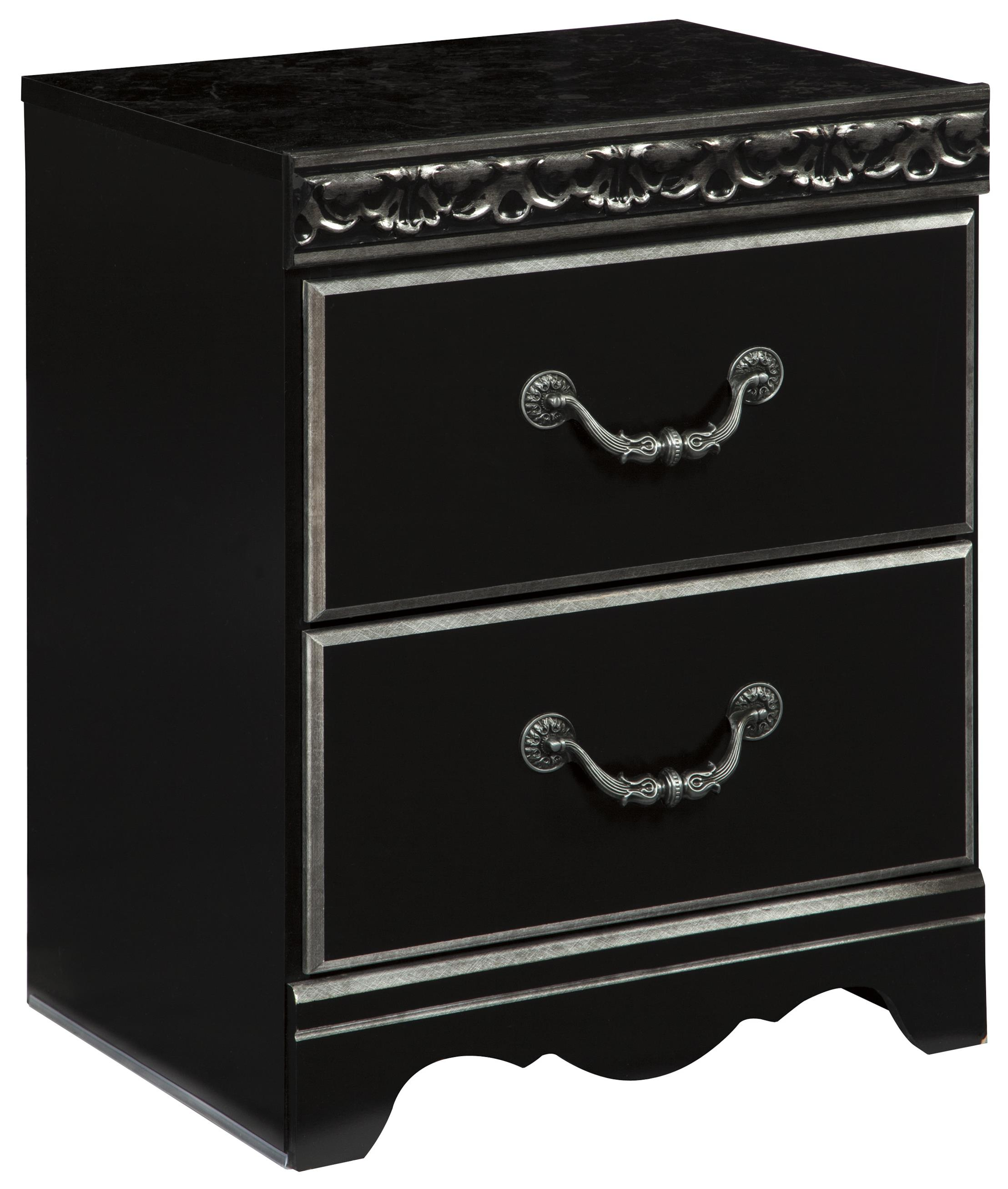 Signature Design by Ashley Navoni 2-Drawer Night Stand - Item Number: B301-92