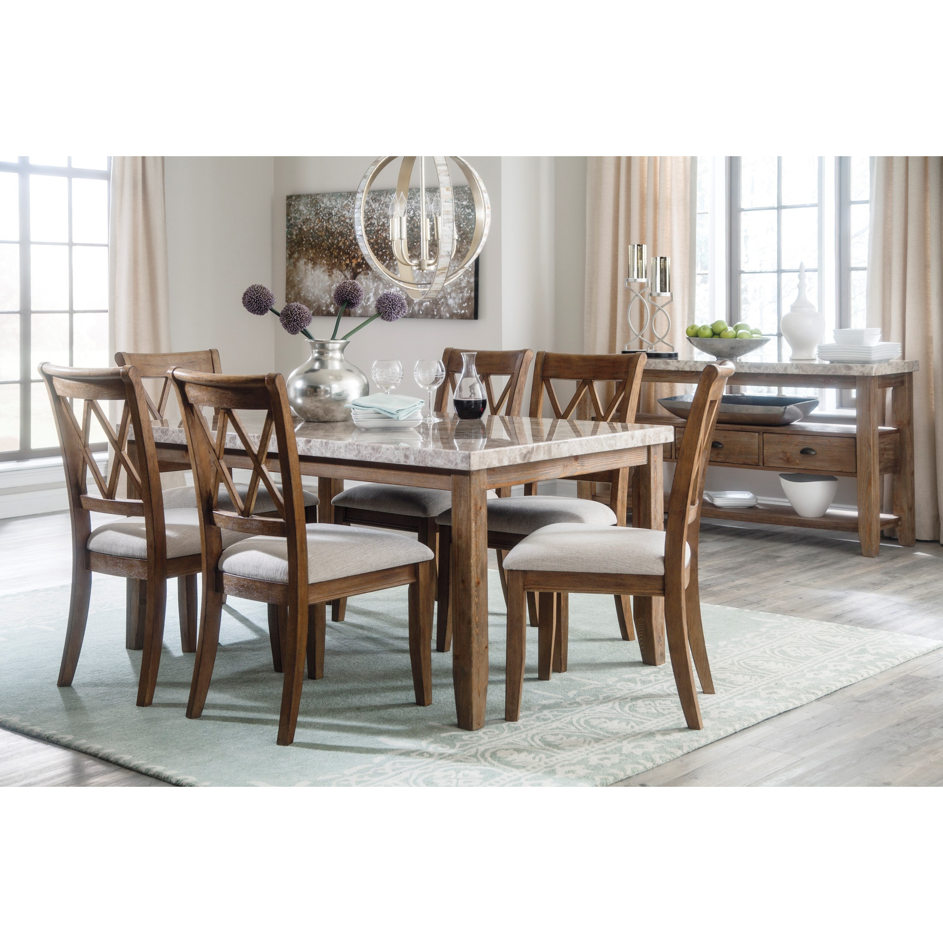 Signature Design by Ashley Narvilla Casual Dining Room Group - Item Number: D559 Dining Room Group 1