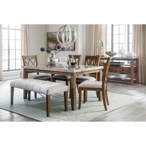Signature Design by Ashley Narvilla Casual Dining Room Group