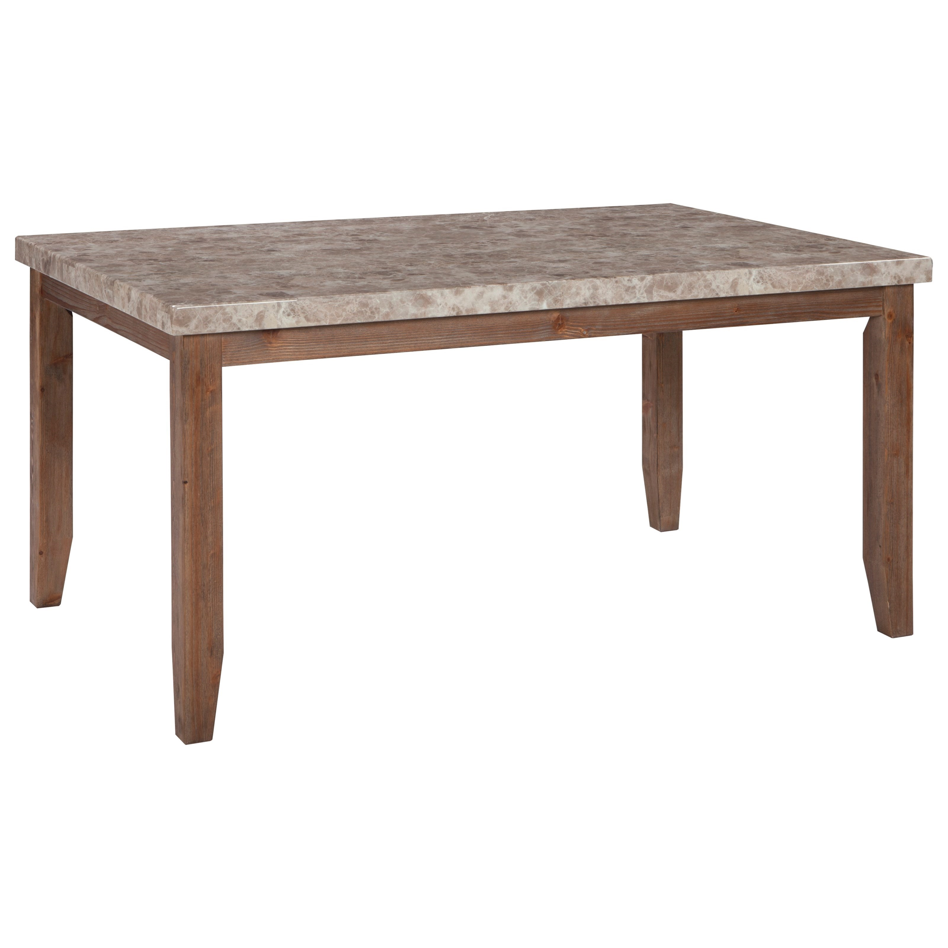 Signature Design by Ashley Narvilla Rectangular Dining Room Table - Item Number: D559-25