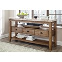 Signature Design by Ashley Narvilla Dining Room Server with Faux Marble Top