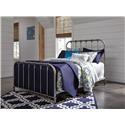 Signature Design by Ashley Nashbury Nashbury Queen Metal Bed - Item Number: 680206654