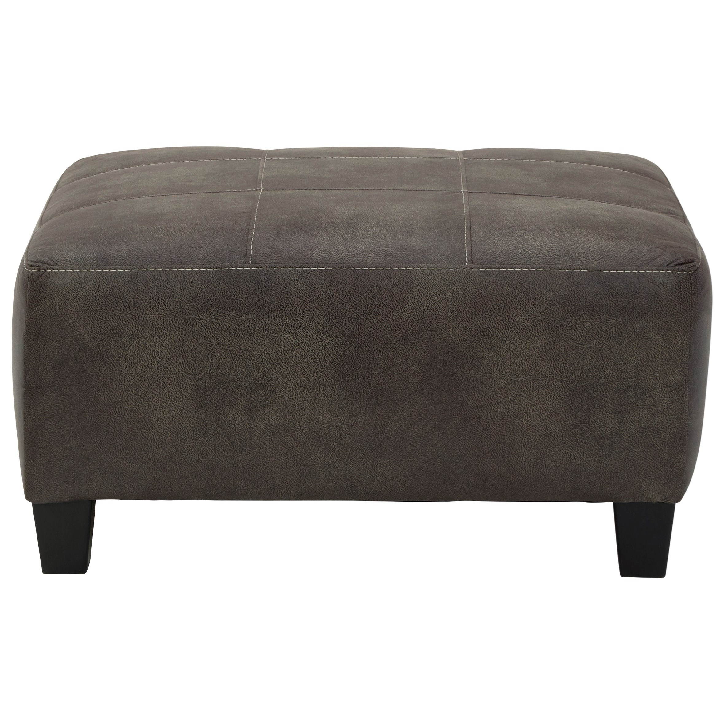 Navi Oversized Accent Ottoman by Signature Design by Ashley at Beck's Furniture