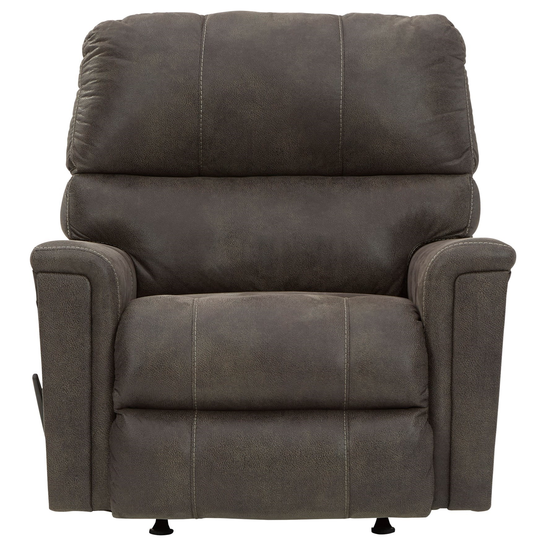 Navi Rocker Recliner by Signature Design by Ashley at Beck's Furniture