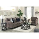 Signature Design by Ashley Nemoli Stationary Living Room Group - Item Number: 45806 Living Room Group 2