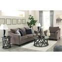 Signature Design by Ashley Nemoli Stationary Living Room Group - Item Number: 45806 Living Room Group 2