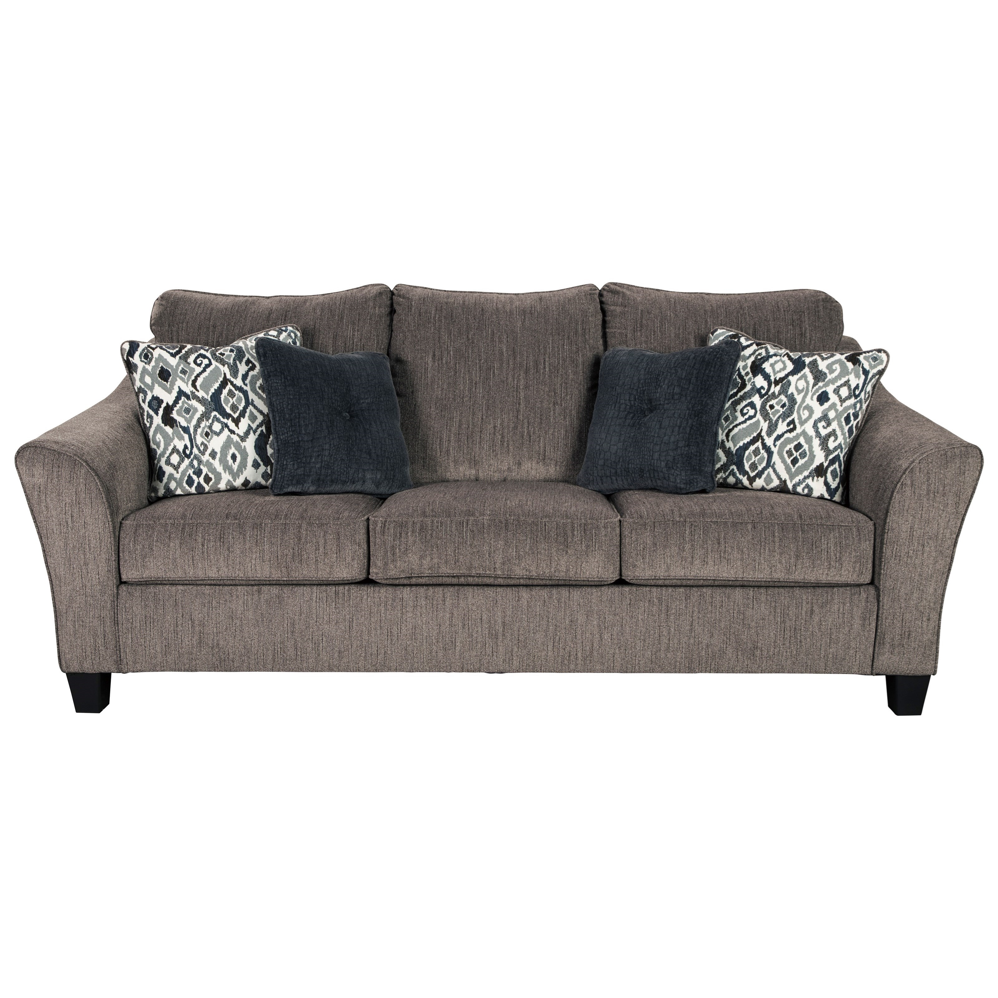 Theon Theon Queen Sofa Sleeper by Ashley at Morris Home
