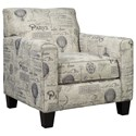Signature Design by Ashley Nesso Accent Chair - Item Number: A3000012