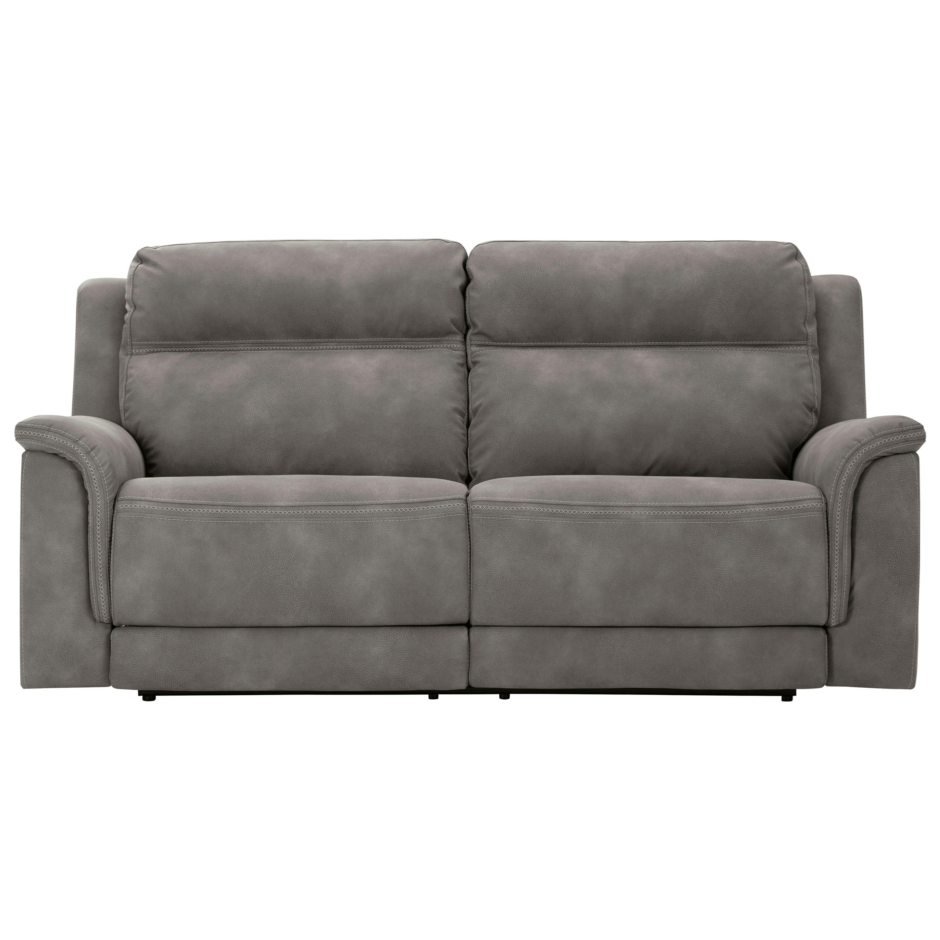 Next-Gen DuraPella 2-Seat Pwr Rec Sofa  w/ Adj Headrests by Signature Design by Ashley at Standard Furniture