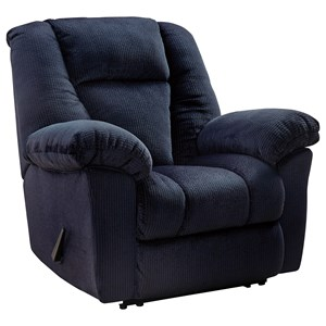Signature Design By Ashley Nimmons Zero Wall Recliner