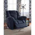 Signature Design by Ashley Nimmons Casual Wall Saver Recliner