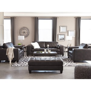 Signature Design by Ashley Nokomis Stationary Living Room Group