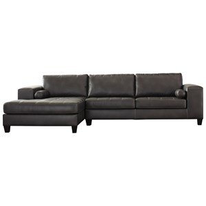 Signature Design by Ashley Nokomis Sectional with Left Chaise & Queen Sleeper