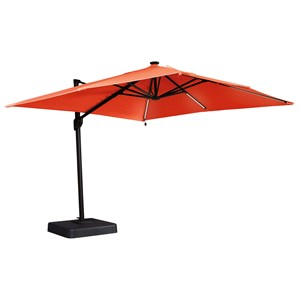 Coral Large Cantilever Umbrella