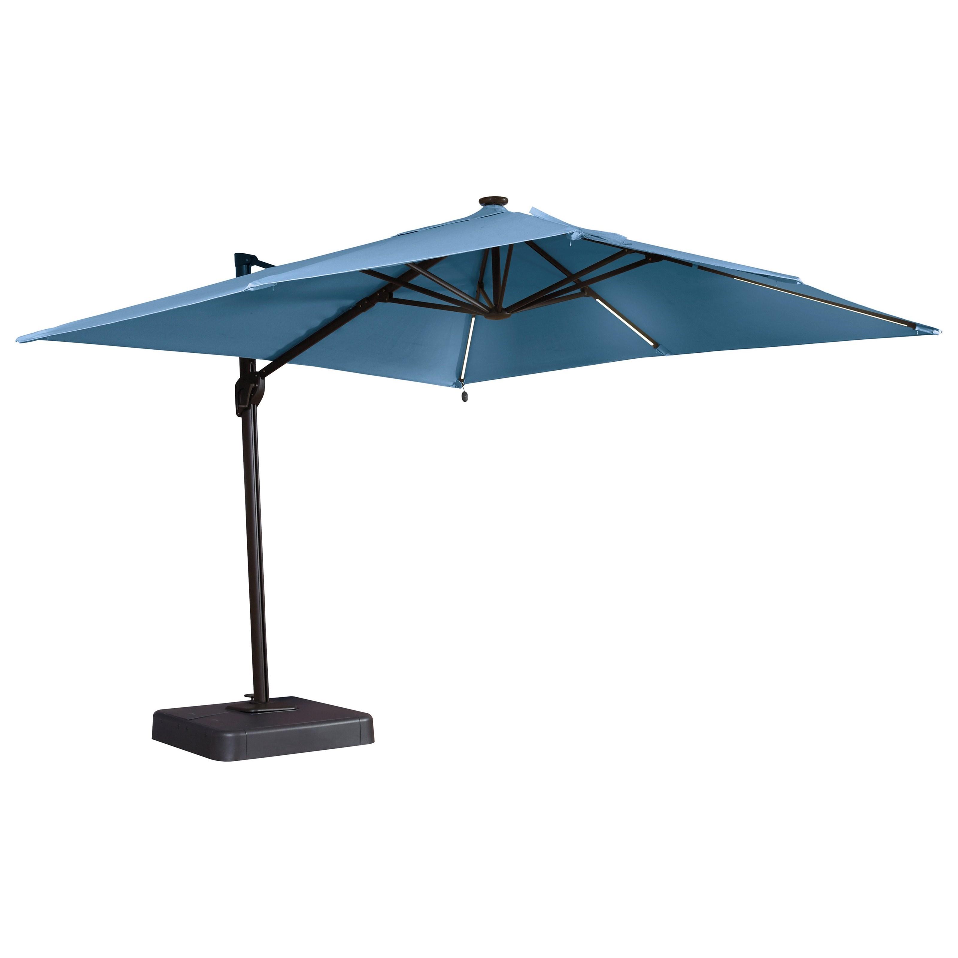 Ashley (Signature Design) Oakengrove Blue Large Cantilever Umbrella - Item Number: P017-992