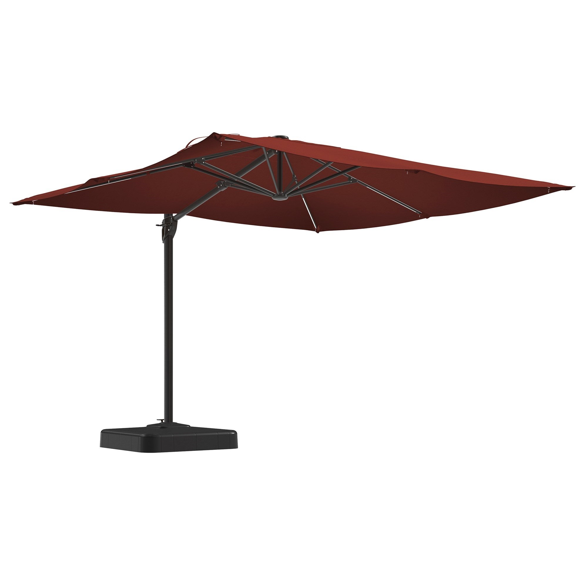 Signature Design by Ashley Oakengrove Large Cantilever Umbrella - Item Number: P017-993