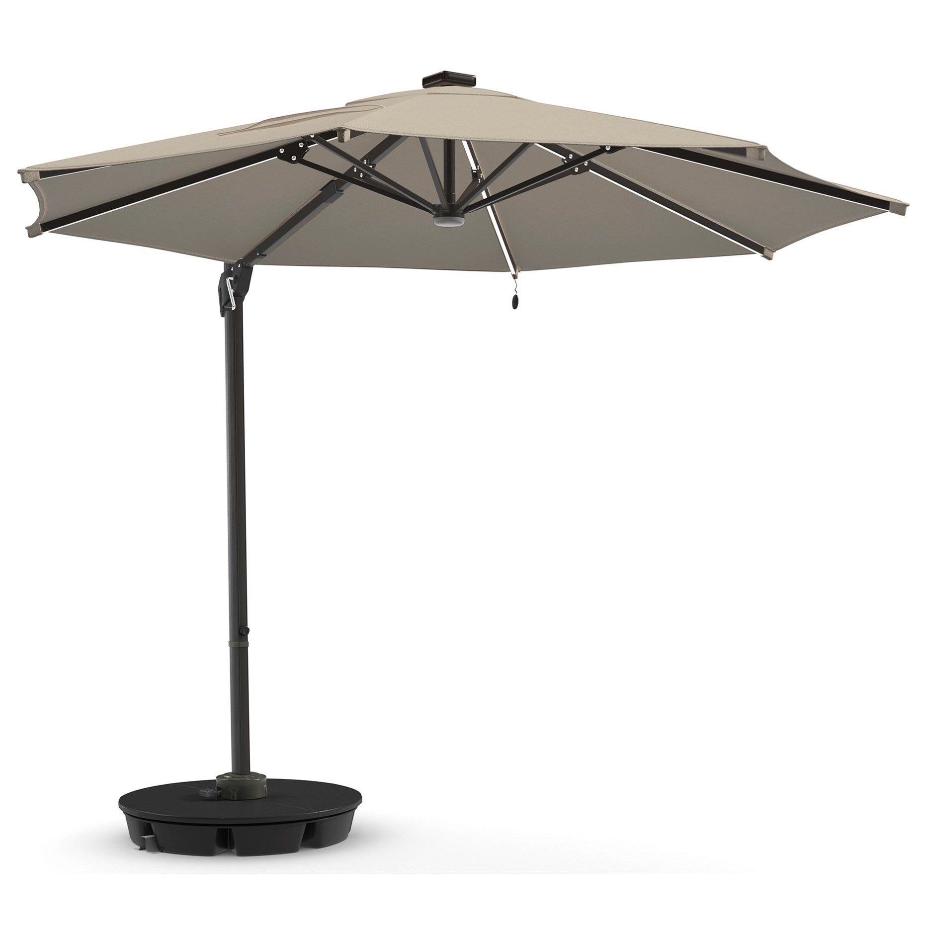 Signature Design by Ashley Oakengrove Large Cantilever Umbrella - Item Number: P017-995