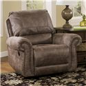 Signature Design by Ashley Oberson - Gunsmoke Swivel Glider Recliner - Item Number: 7410061