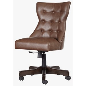 Signature Design by Ashley Office Chair Program Home Office Swivel Desk Chair