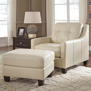 Signature Design by Ashley O'Kean Chair & Ottoman