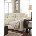 Signature Design by Ashley O'Kean Contemporary Leather Match Queen Sofa Sleeper