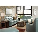 Signature Design by Ashley O'Kean Stationary Living Room Group - Item Number: 59103 Living Room Group 2