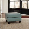 Signature Design by Ashley O'Kean Leather Match Ottoman