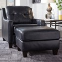 Signature Design by Ashley O'Kean Chair & Ottoman - Item Number: 5910420+14