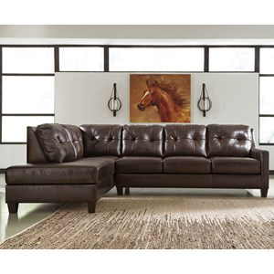 Signature Design by Ashley O'Kean 2-Piece Sectional
