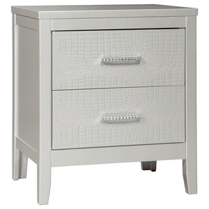 Signature Design by Ashley Olivet Two Drawer Night Stand