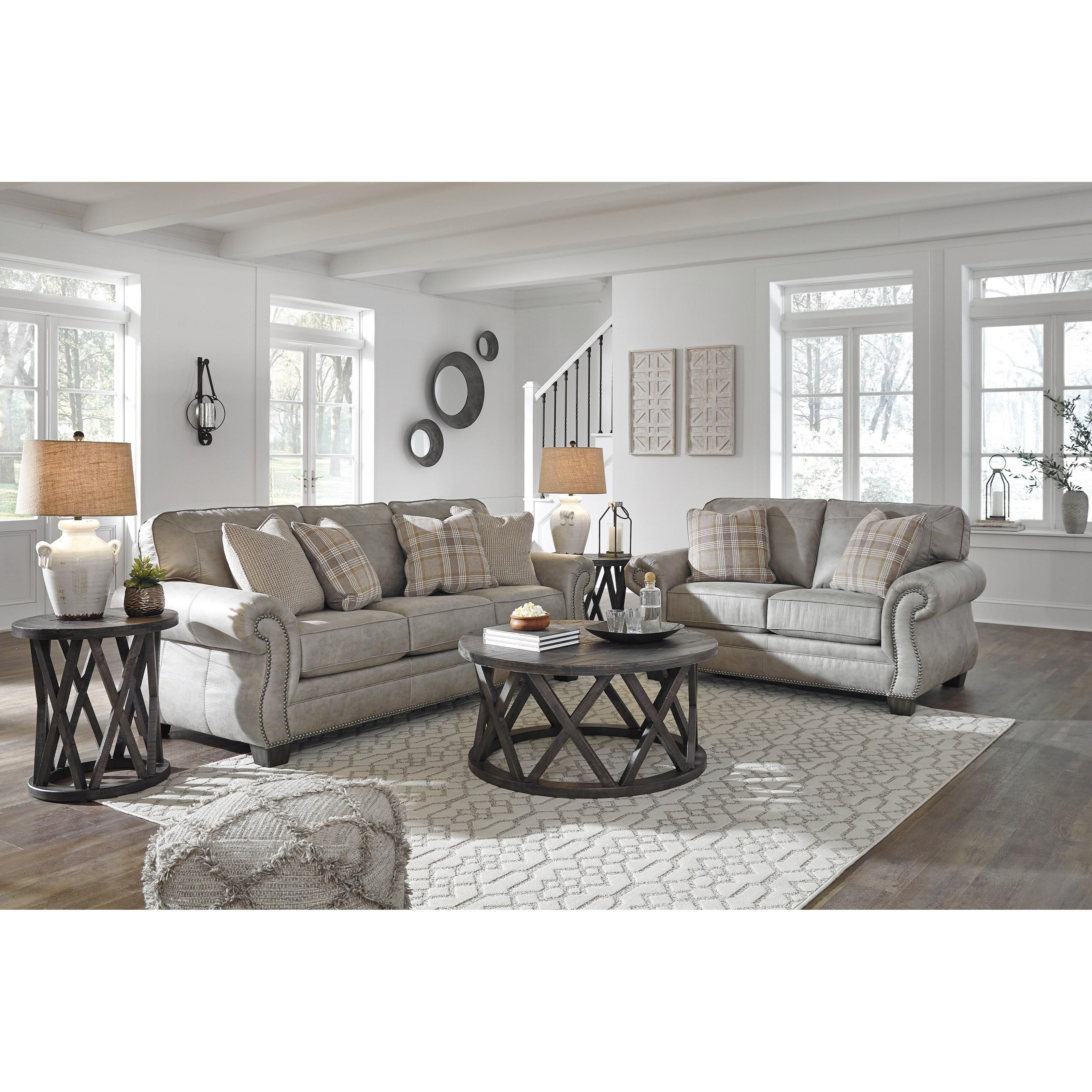 Ashley City Furniture: Signature Design By Ashley Olsberg Stationary Living Room