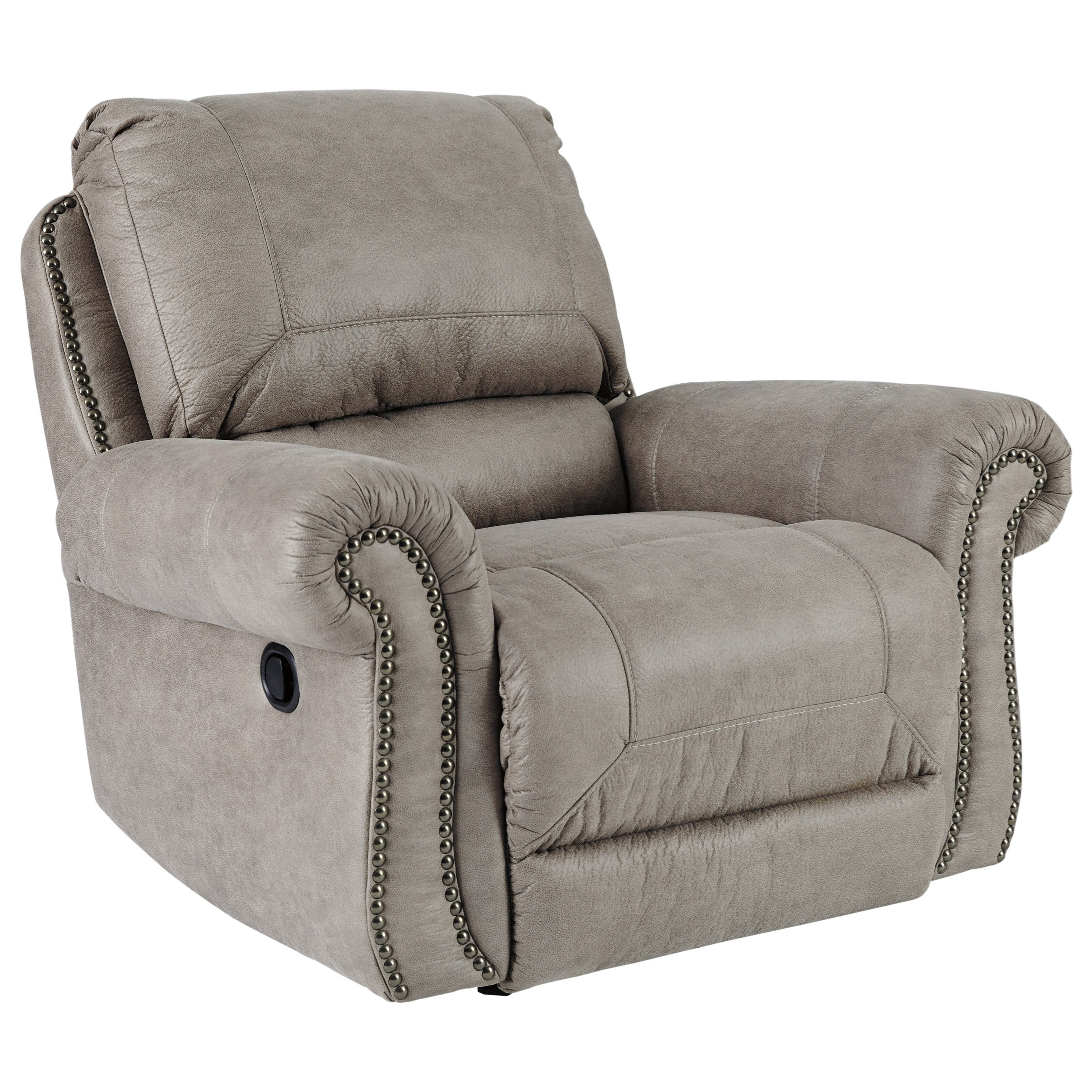 Ashley Furniture Recliners: Signature Design By Ashley Olsberg Rocker Recliner With