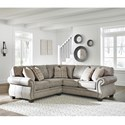 Signature Design by Ashley Olsberg 2 Piece Sectional - Item Number: 4870155+49