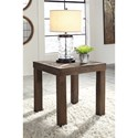 Signature Design by Ashley Ossereene Rustic Square End Table