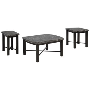 Signature Design by Ashley Furniture Otterton Occasional Table Set