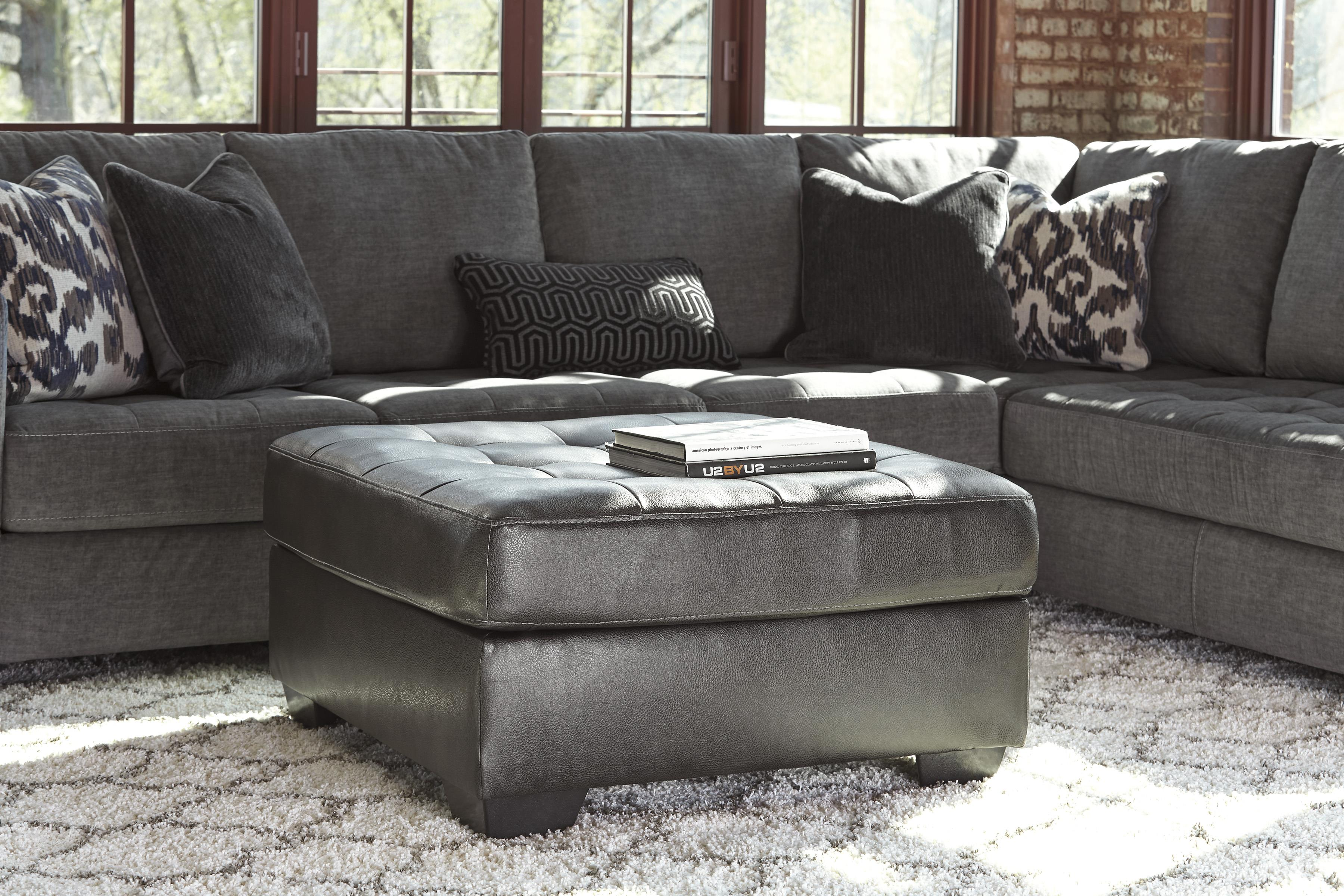 Signature Design By Ashley Owensbe Accent Gray Faux