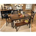 Signature Design by Ashley Owingsville Large Dining Room Bench