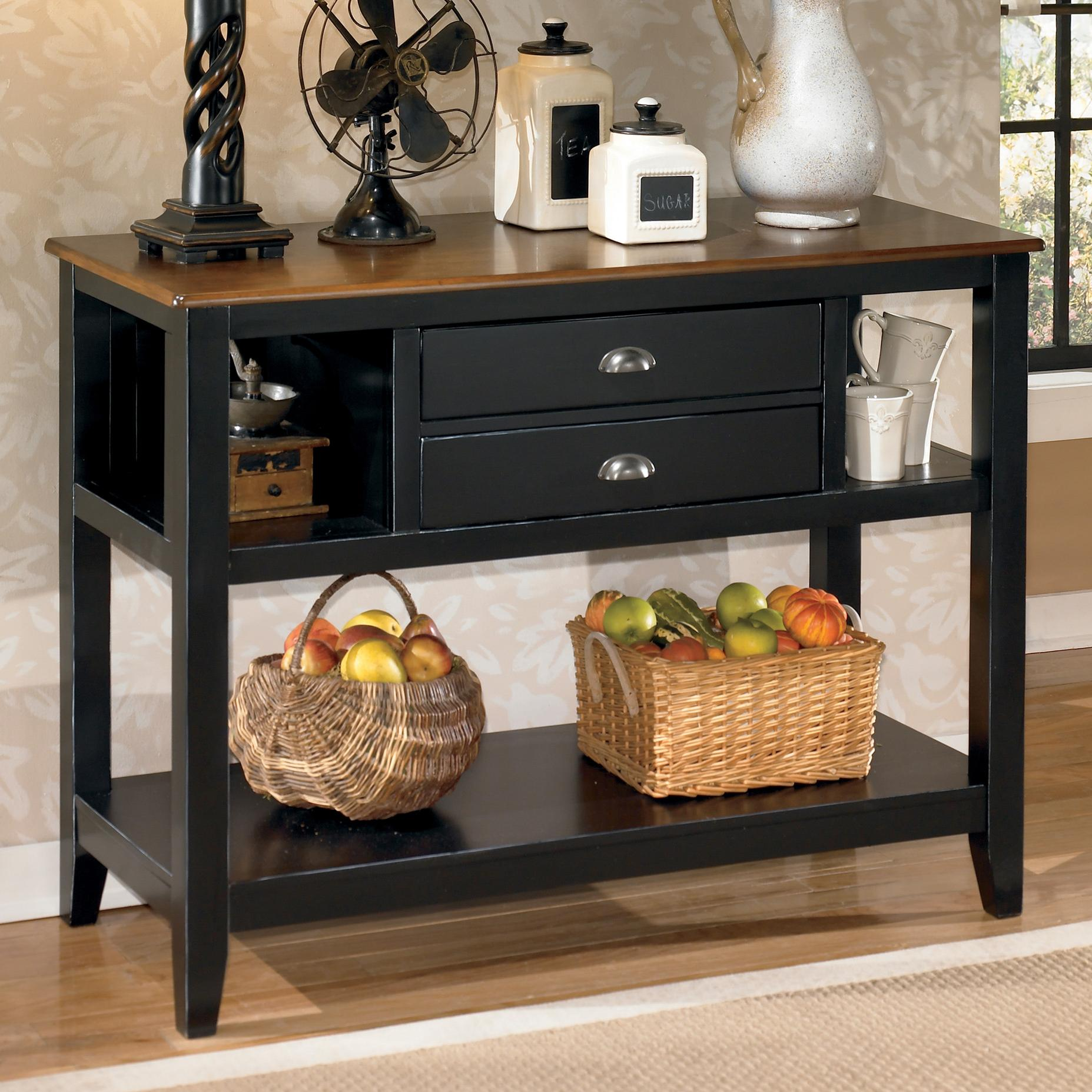 Signature Design By Ashley Owingsville Dining Room Server   Item Number:  D580 59