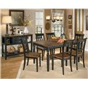 Signature Design by Ashley Owingsville Two-Tone Dining Room Server