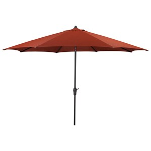 Signature Design by Ashley Umbrella Accessories Large Auto Tilt Umbrella